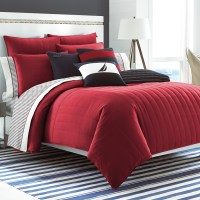 Nautica Mainsail Red Comforter Set from Beddingstyle.com