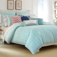 Nautica Mainsail Aqua Comforter Set from Beddingstyle.com