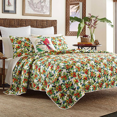 Tommy Bahama Parrot Cove Quilt from Beddingstylecom