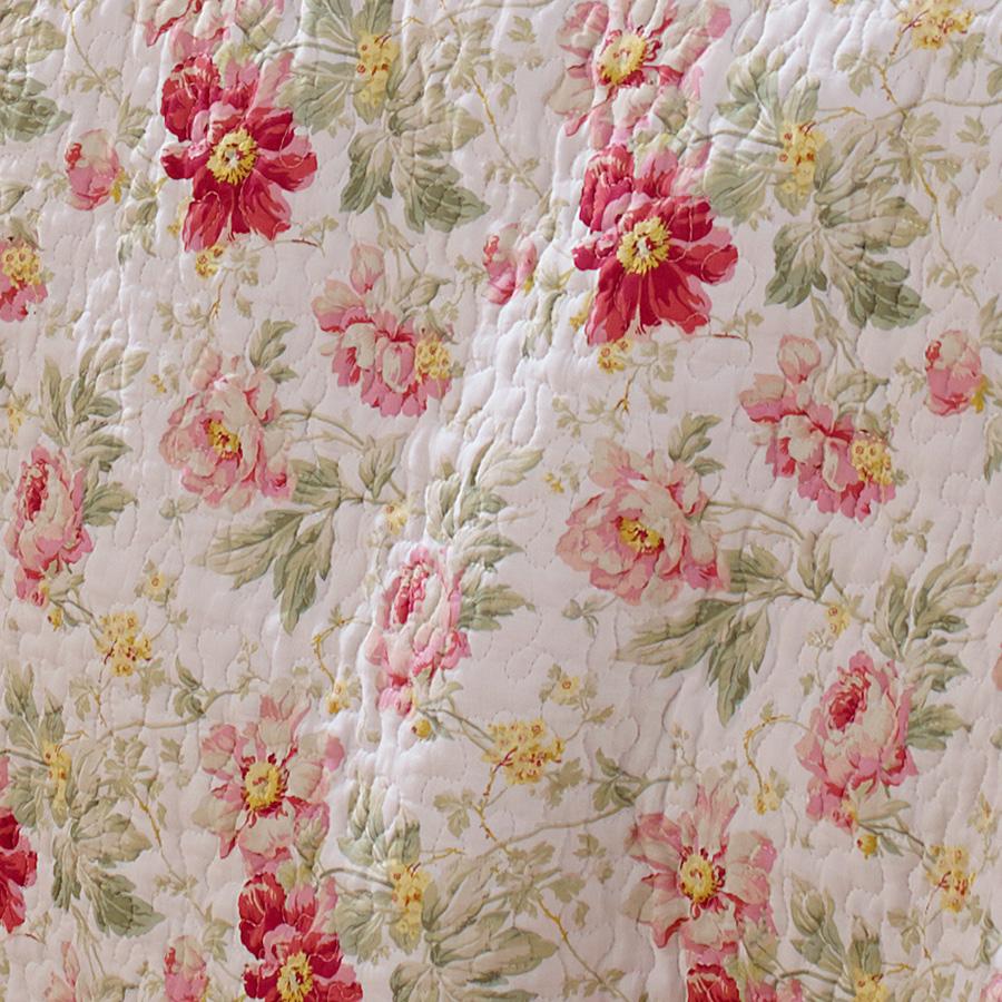 Laura Ashley Peony Garden Rose Quilt Set from Beddingstylecom