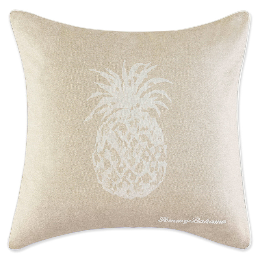 Tommy Bahama Pineapple 20 Square Pillow from Beddingstylecom
