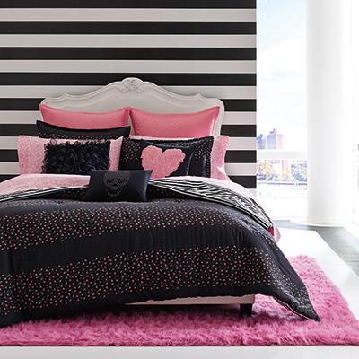 Betsey Johnson Punk Princess Comforter Set From