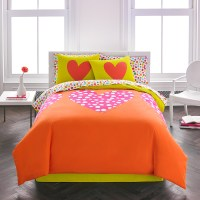 Agatha Ruiz De La Prada Polka Heart Comforter from ...
