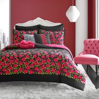 Betsey Johnson Rose Garden Comforter Set from Beddingstyle.com