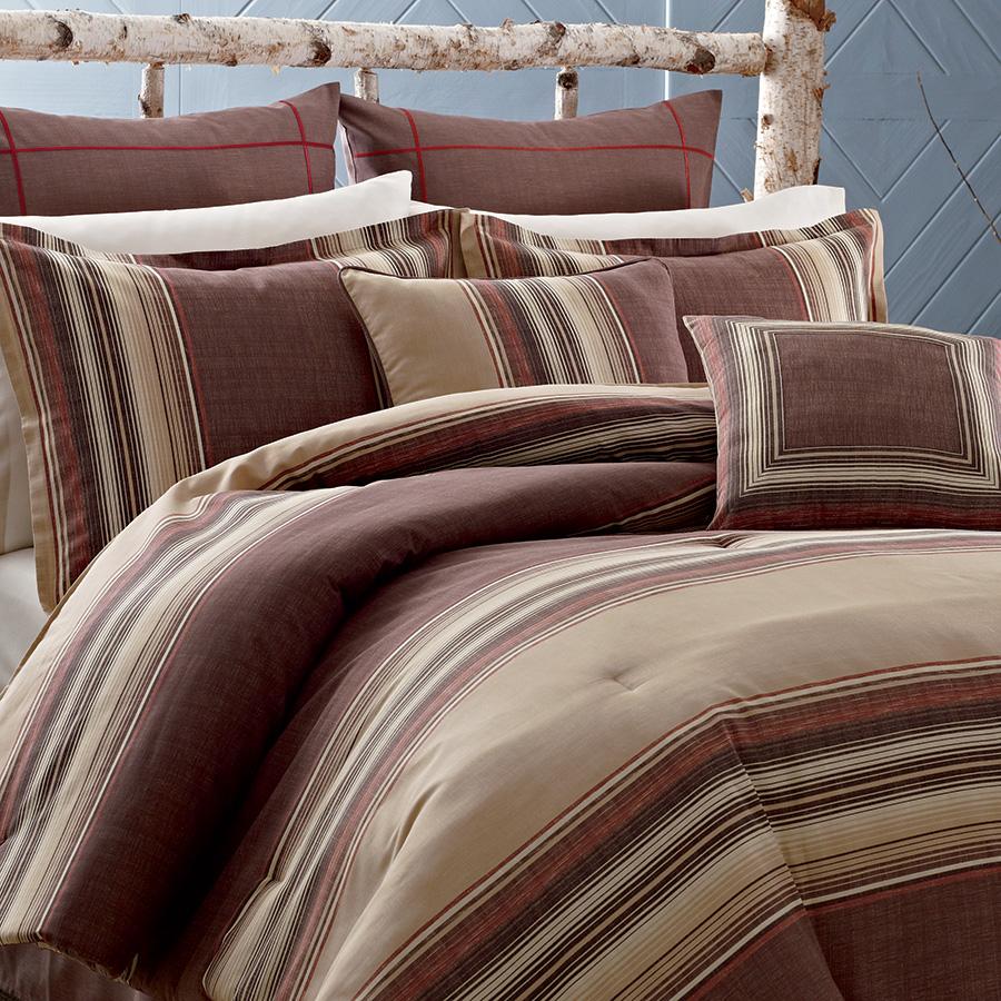 Masculine Bedding Patterns From Eddie Baurer From