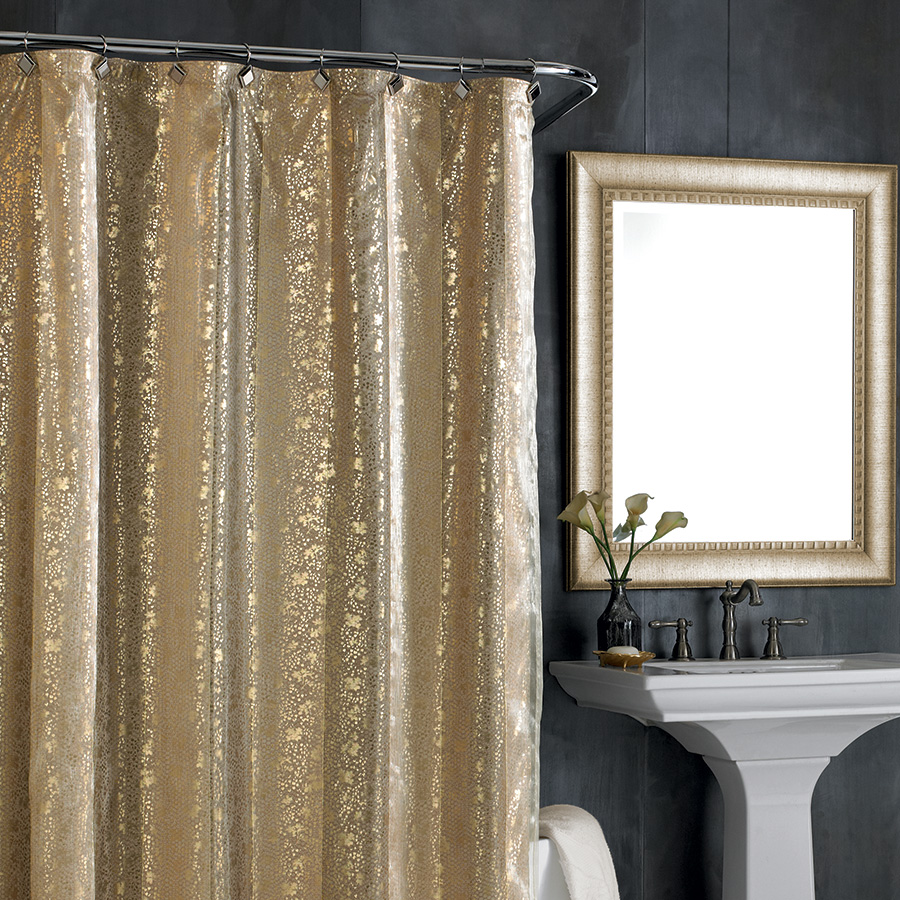 Nicole Miller Sheer Bliss Shower Curtain From