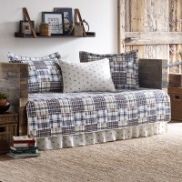 Eddie Bauer Sandpoint Yellow Blue Daybed Set from ...