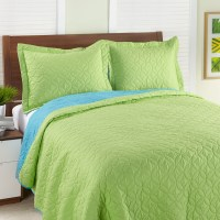 Steve Madden Solid Apple Quilt Set from Beddingstyle.com