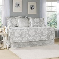 Laura Ashley Venetia Gray Daybed Set from Beddingstyle.com