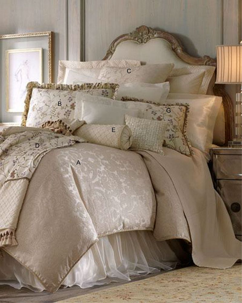 Calais by Isabella Luxury Linens  BeddingSuperStorecom