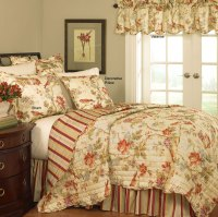Charleston Chirp Quilt Set by Waverly Bedding