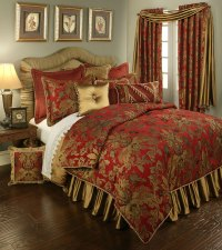 Verona Red by Austin Horn Luxury Bedding ...