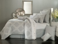Acanthus Arbor Grey by Waterford Luxury Bedding ...