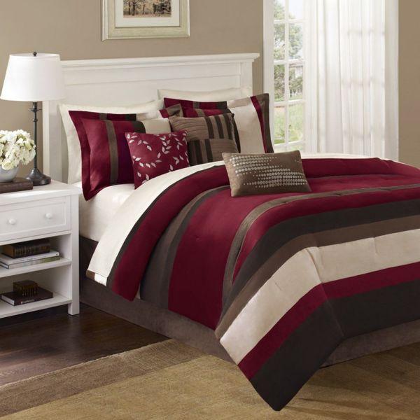 Red King Comforter Sets