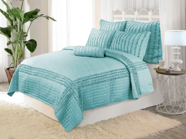 Cloud Quilt Blue Collection by Dena Home ...
