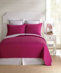 Santorini Fuschia Coverlet by Trina Turk Bedding ...