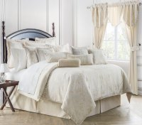 Paloma Ivory by Waterford Luxury Bedding ...