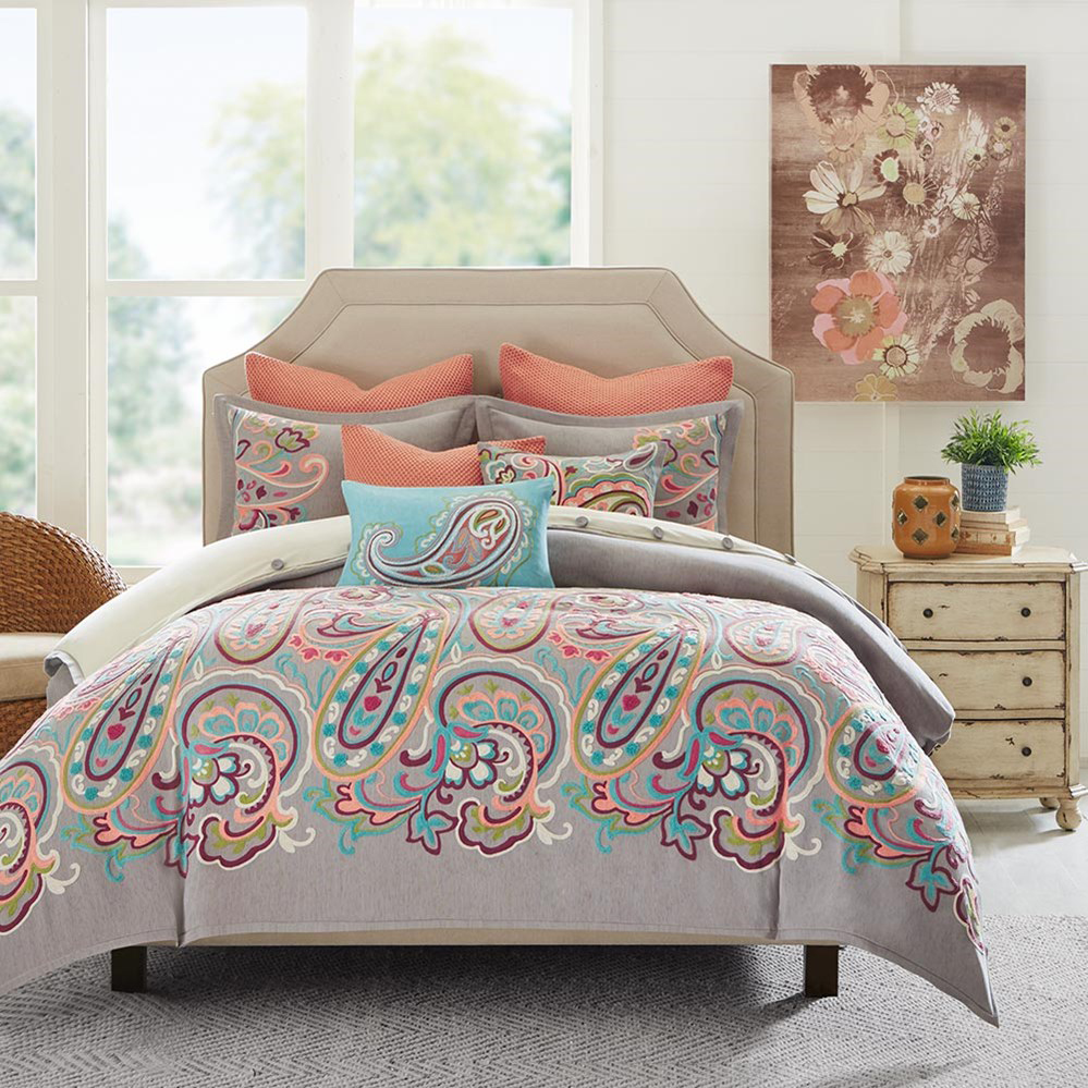 Persian Paisley Comforter Set King Beddingsuperstore Com