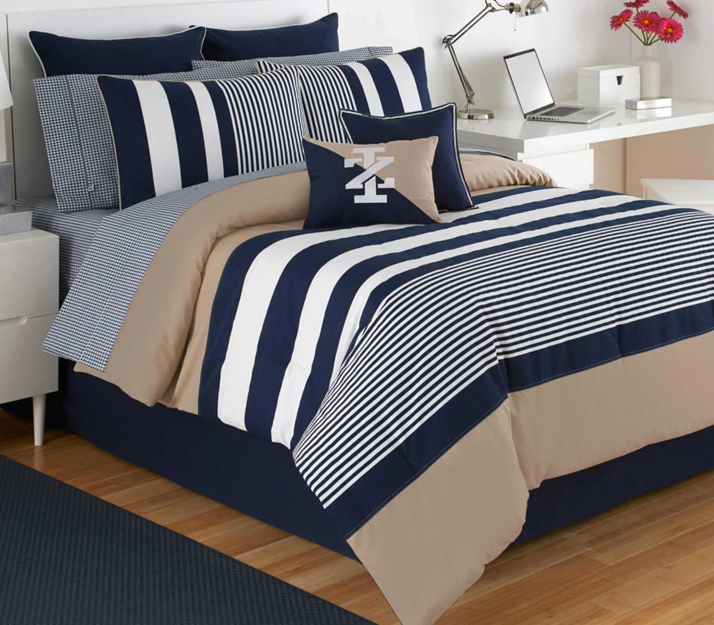 Classic Stripe by IZOD Bedding  BeddingSuperStorecom