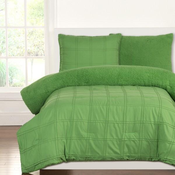 Playful Plush Jungle Green Crayola Bedding