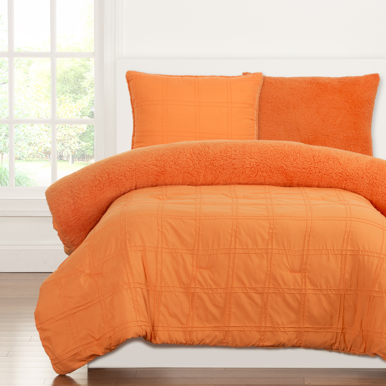 Playful Plush Outrageous Orange by Crayola Bedding
