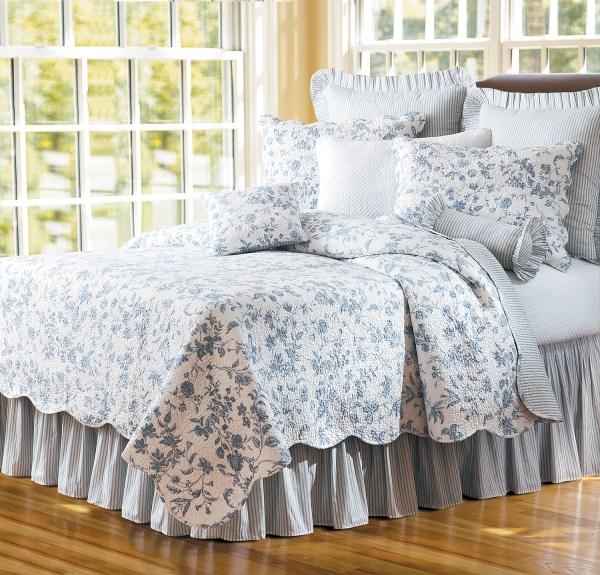 Brighton Blue Toile & Quilts