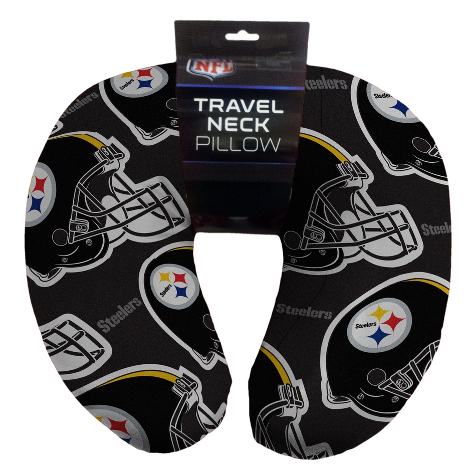 Pittsburgh Steelers Neck Pillow  BeddingSuperStorecom