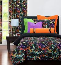neon comforter - 28 images - new confetti peace teen girls ...