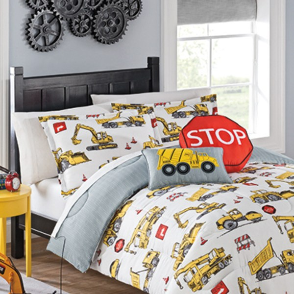 Under Construction Waverly Kids Bedding Collection