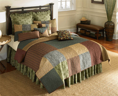Terra Square by Donna Sharp Quilts  BeddingSuperStorecom