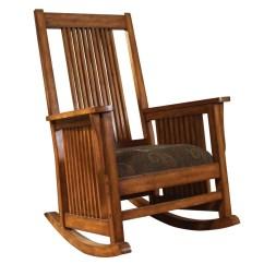 Antique Spindle Rocking Chair Barcelona Orange Madison Park Belmont - Beddingsuperstore.com