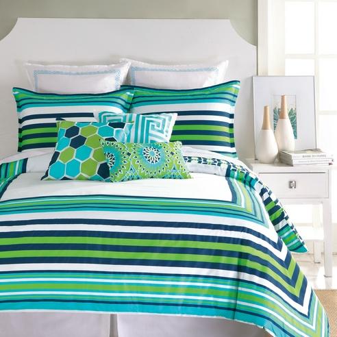 huntington stripe by trina turk bedding beddingsuperstore com