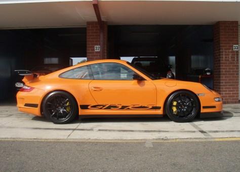 :Porsche GT3 RS in Orange