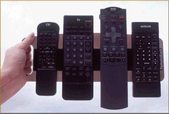 Remote Organizer Caddy RemoteRack Remote Rack Remote