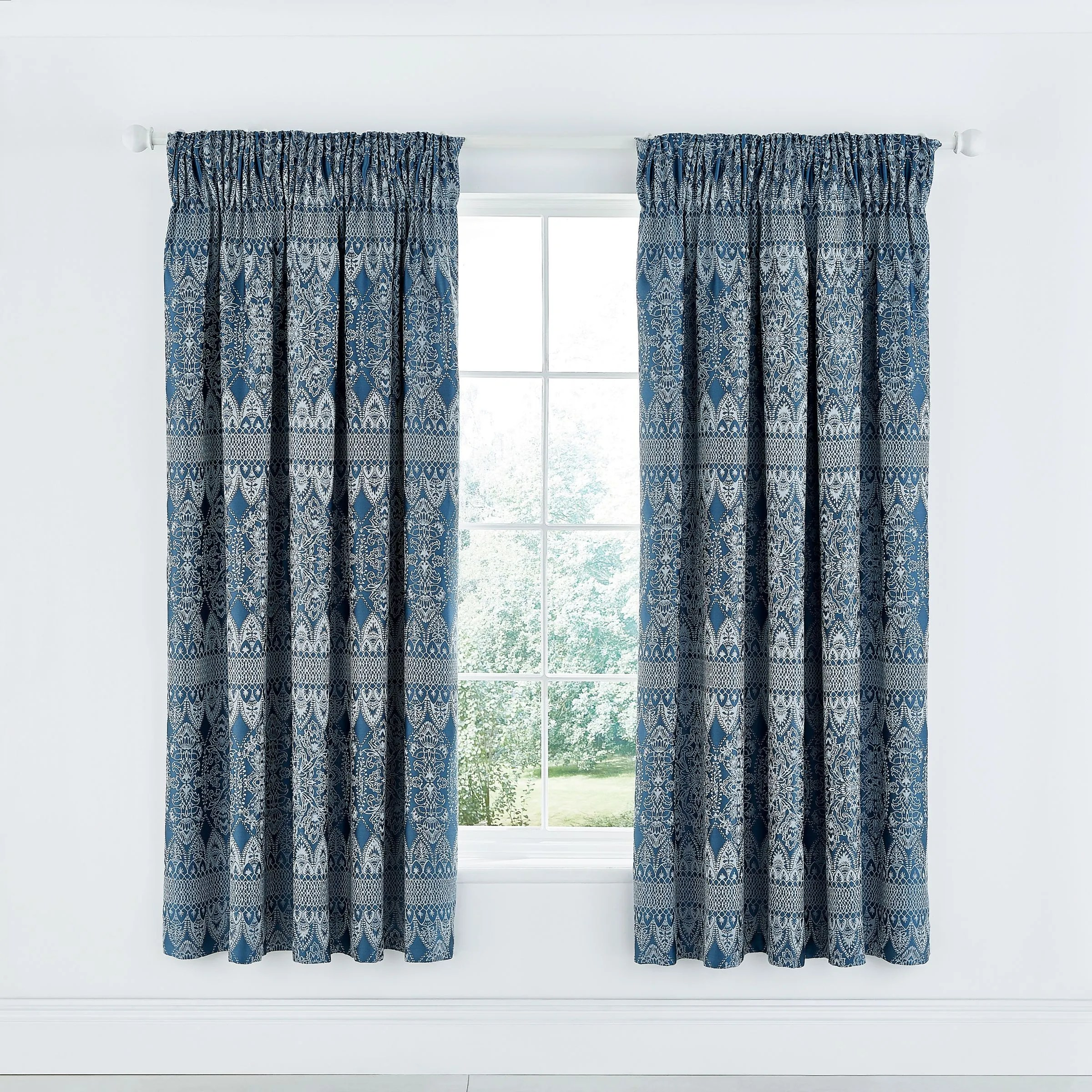 indira lined curtains 66