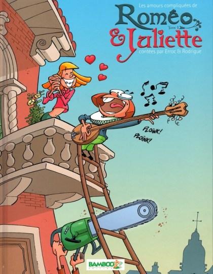 Les Amours compliqués de Roméo et Juliette-Tome1