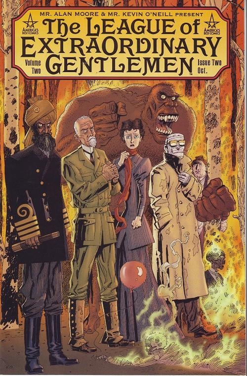 League of extraordinary gentlemen (The) (2002) - BD. informations. cotes