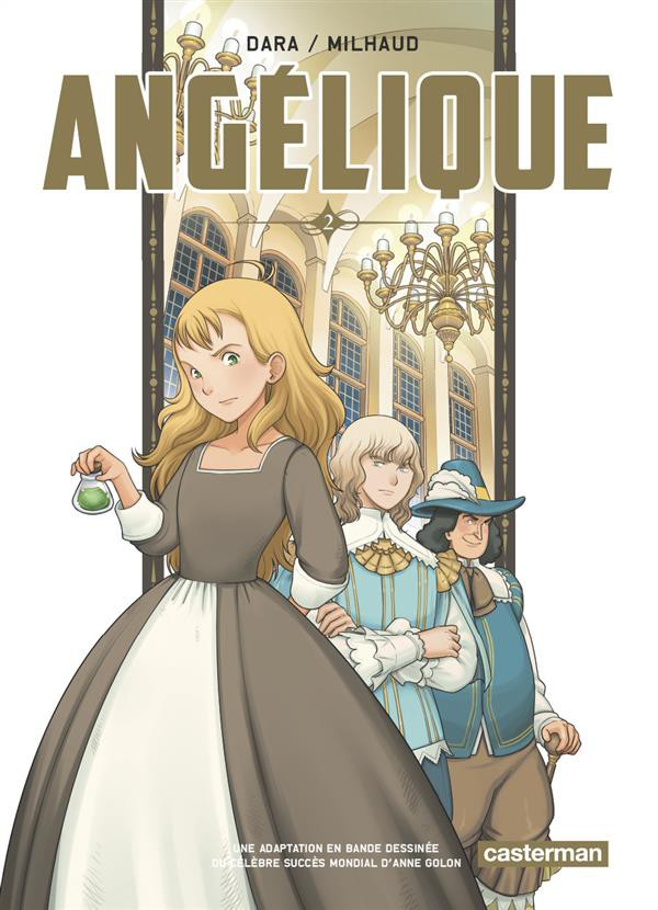 Couverture de Angélique (Dara) -2- Tome 2