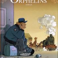 Le train des orphelins - Tome 8 - Adieux : Philippe Charlot et Xavier Fourquemin