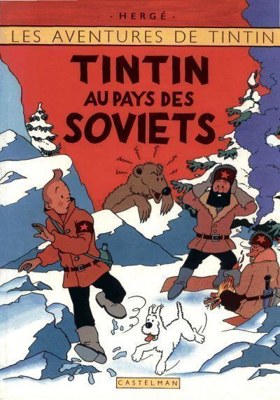 Résultat d'images pour Tintin au pays des soviets  bd