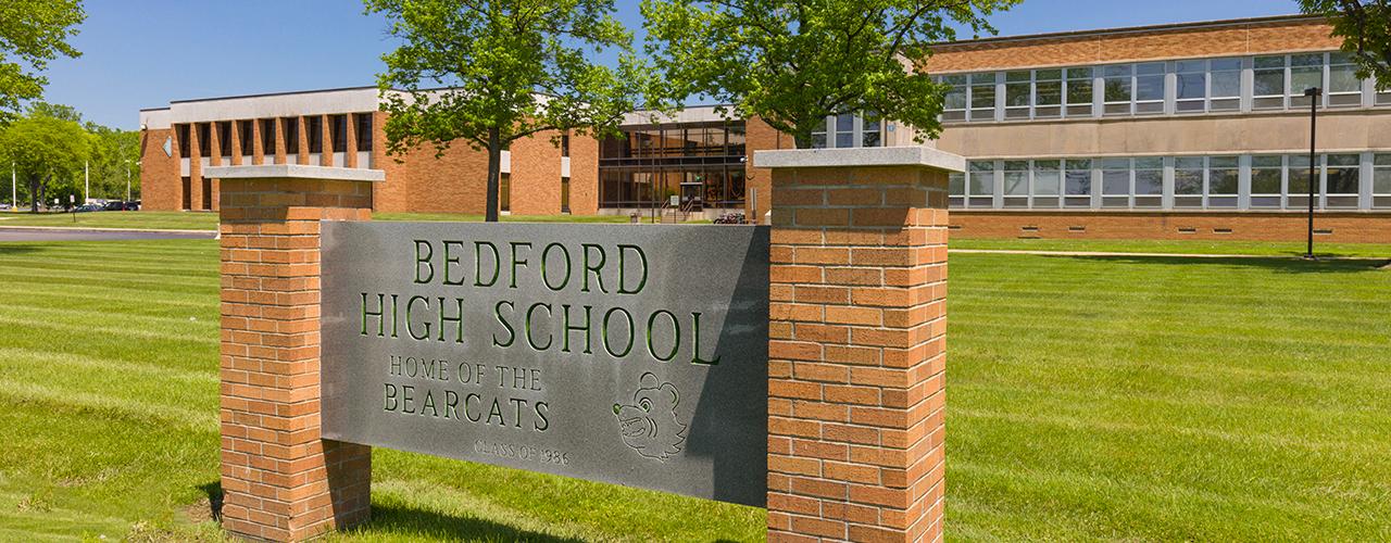 bedford high school homepage