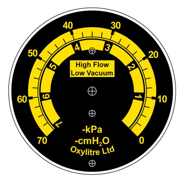 Dials for Pressure Gauges  Mirror Dials  Bedford Dials