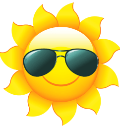 sunshine sun clip art with transparent background free free clipart sun 2361 2358  [ 2361 x 2358 Pixel ]