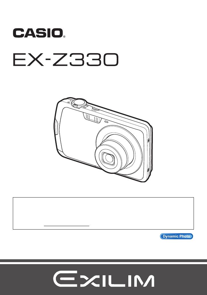 Bedienungsanleitung Casio Exilim Zoom EX-Z330 (194 Seiten)