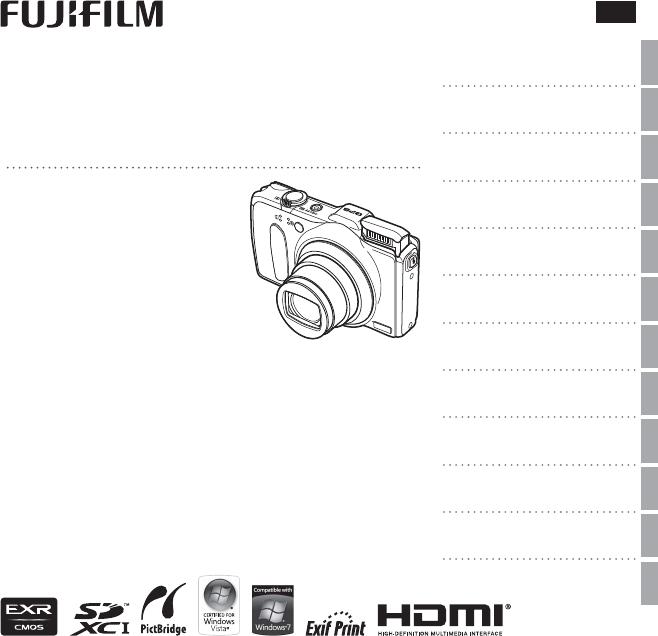 Bedienungsanleitung Fujifilm FinePix F600EXR (153 Seiten)