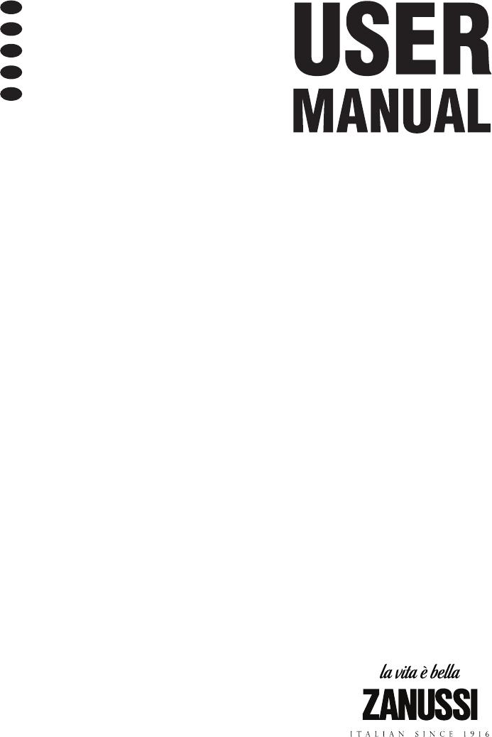 Bedienungsanleitung Zanussi ZBB3294 (68 Seiten)
