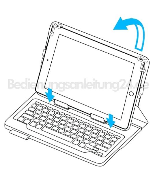 Bedienungsanleitung Logitech Tastatur Für Ipad