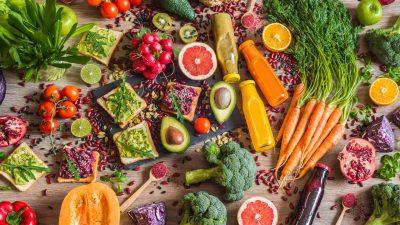 lentement fruits légumes