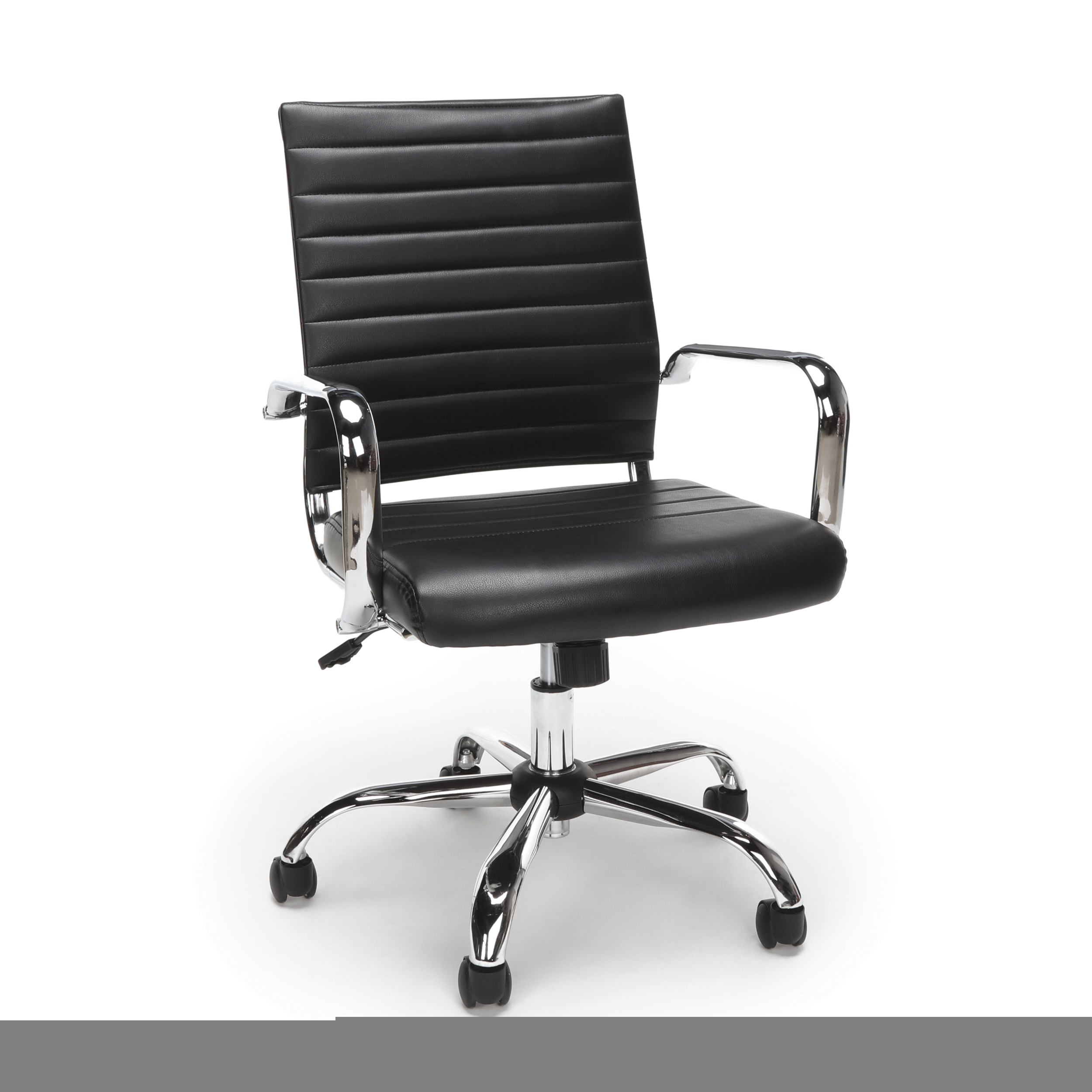 durable office chairs poang chair review furniture 250 lbs steel frame ribbed