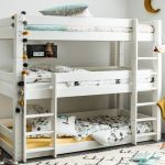 Flair Furnishings Scandinavia Triple Bunk Bed